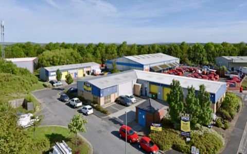 View of Belmont Industrial Estate Serviced Offices