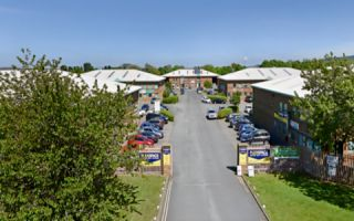 View of Skippers Lane Industrial Estate Serviced Offices