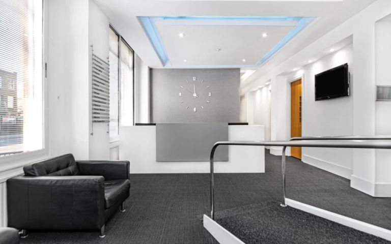 View Of Grays Inn Road Serviced Offices