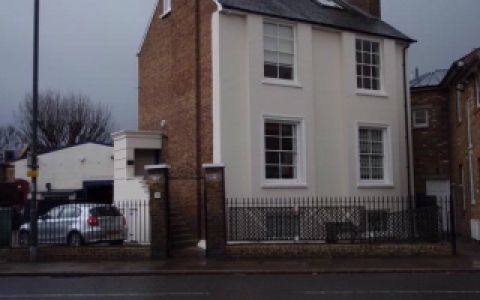 View of Lower Richmond Road Serviced Offices