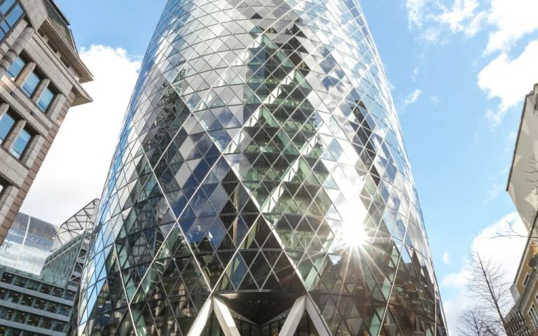 View of St Mary Axe, EC3A 8BF