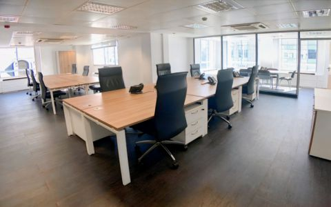View of New Bridge Street Serviced Offices