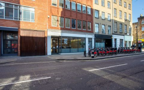 View of Charlotte Street Serviced Offices