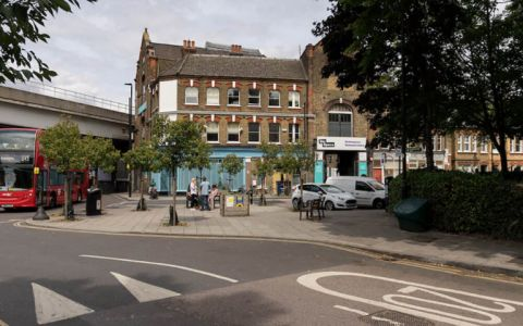View of Coldharbour Lane, SW9 8RR