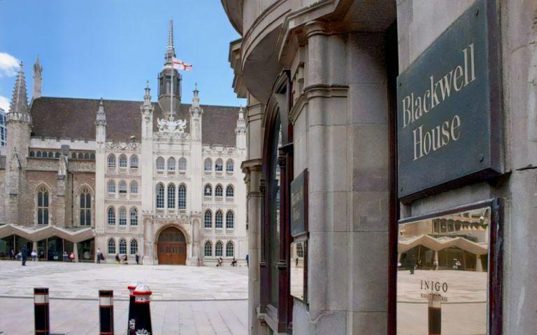 View of Guildhall Yard, EC2V 5AE