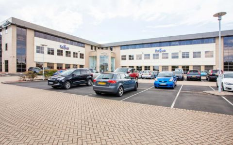 View of Blythe Valley Business Park, B90 8AG