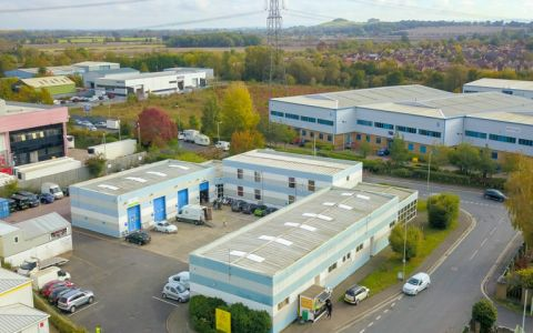 View of Southmead Industrial park, OX11 7PH