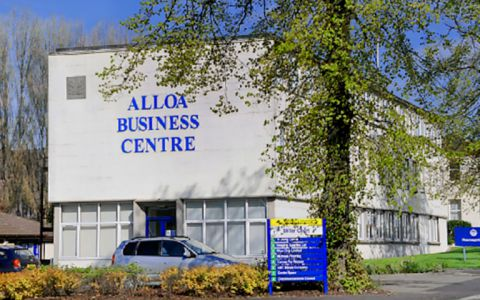 View of Alloa Business Park, FK10 3SA