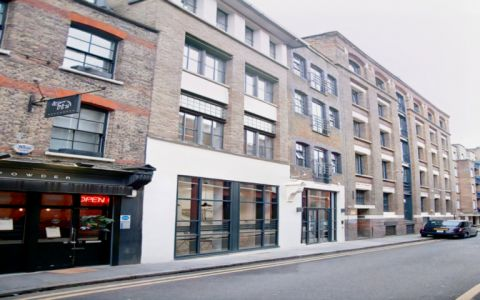 View of Whites Row, E1 7NF