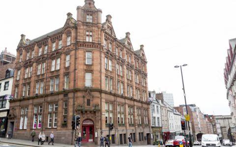 View of Mosley Street, NE1 1DE