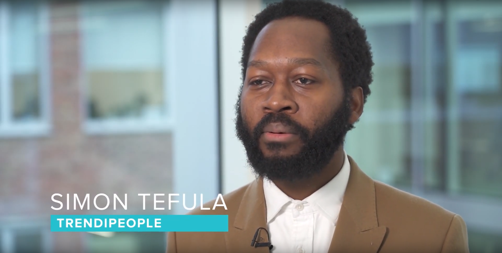 Simon Tefula about Trendipeople