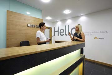 Albion Court serviced offices in Leeds