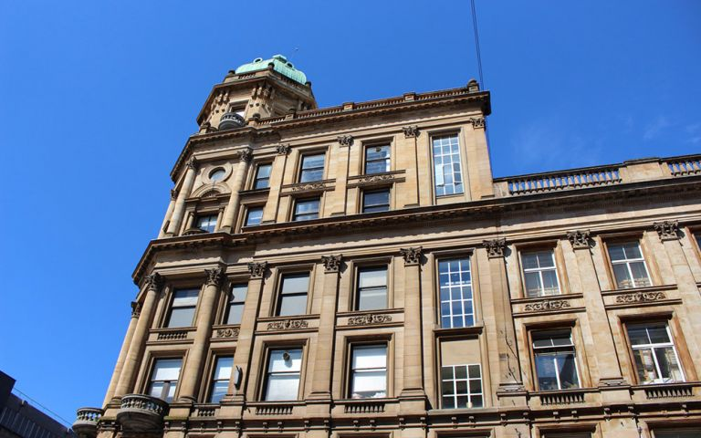 Serviced offices on Buchanan Street in Glasgow