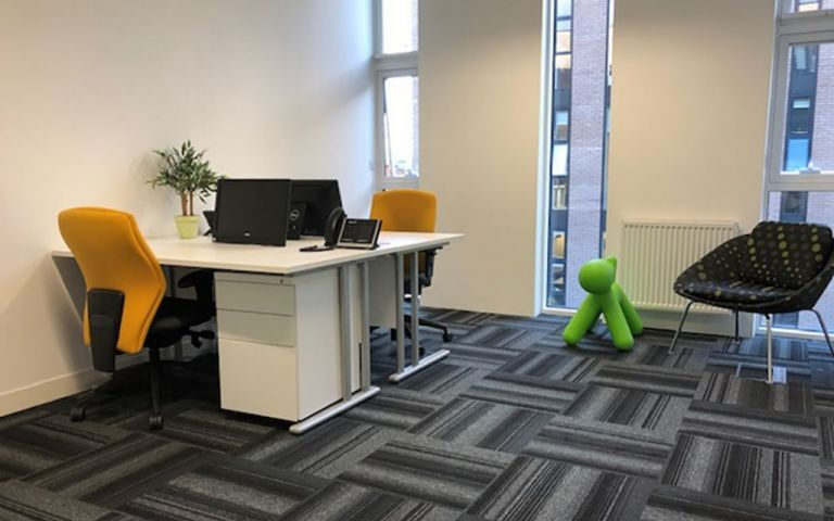 Serviced offices at Lever Street in Manchester