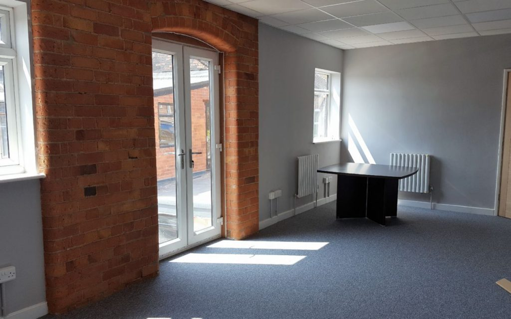 Funky serviced offices at Oak Street in Nottingham