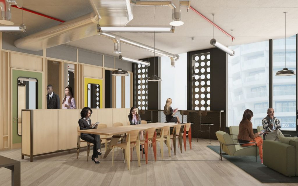 Serviced offices in Old Street Yard London