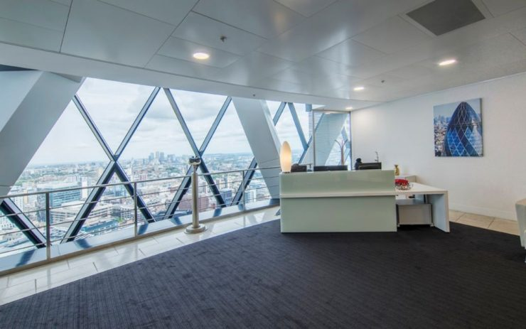 Serviced offices in St Marys Axe Central London
