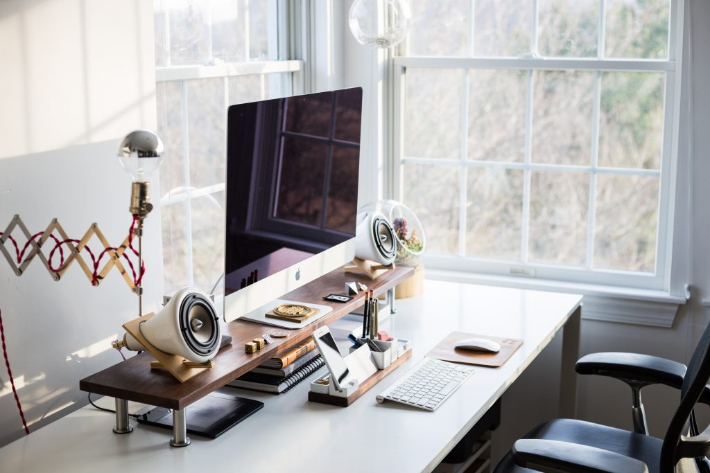 Choosing a desk next to a window can make all the difference to your days at work