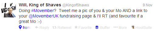 Will  King of Shaves  KingofShaves  on Twitter